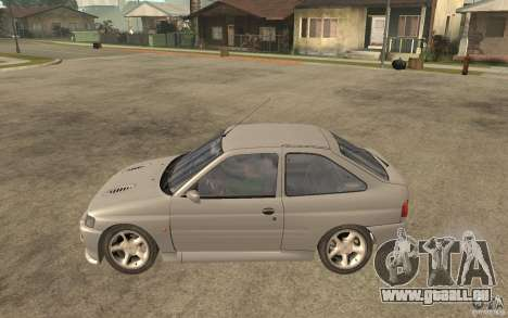 Ford Escort RS Cosworth 1992 für GTA San Andreas linke Ansicht