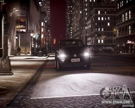 Volkswagen Fox 2011 pour GTA 4 est une vue de dessous