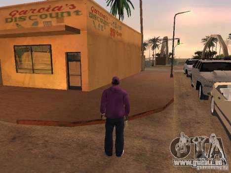 Ballas 4 Life für GTA San Andreas elften Screenshot