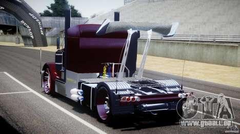 Peterbilt Sport Truck Custom für GTA 4 Seitenansicht