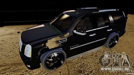 Cadillac Escalade 2007 v3.0 pour GTA 4 est une gauche