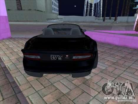 Banshee de gta 4 pour GTA San Andreas vue de droite