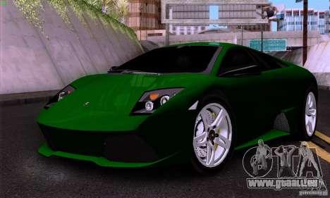 Lamborghini Murcielago LP640 für GTA San Andreas