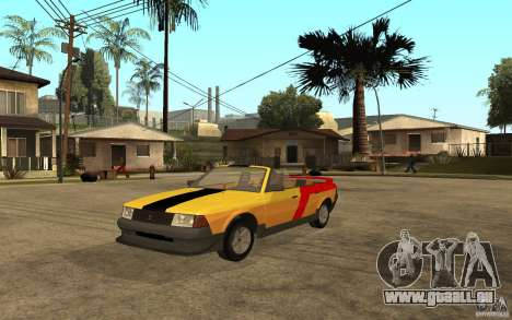 Moskvich 2141 Cabriolet für GTA San Andreas linke Ansicht