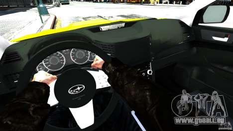 Subaru Legacy B4 pour GTA 4 Vue arrière