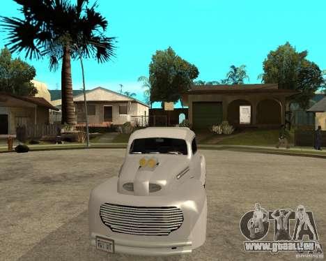 Ford F1 Pickup Hotrod 49 für GTA San Andreas Rückansicht