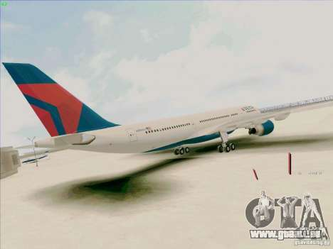 Airbus A330-200 für GTA San Andreas zurück linke Ansicht