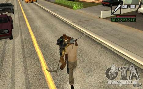 CJ chasse V 2.0 pour GTA San Andreas