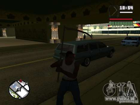 Xhosa pour GTA San Andreas