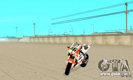 Honda Valentino Rossi Pcj600 pour GTA San Andreas
