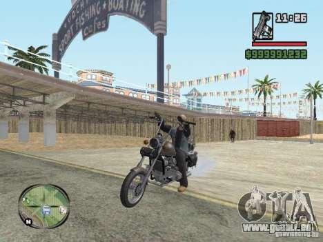 Vagos Biker pour GTA San Andreas troisième écran