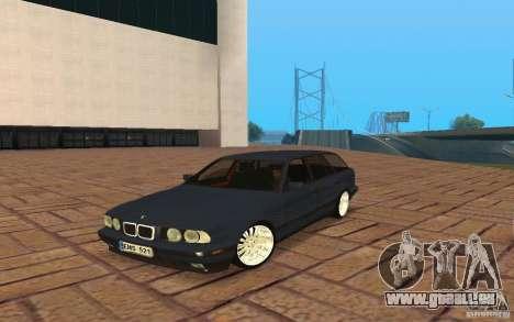 BMW E34 535i Touring pour GTA San Andreas