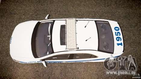 Honda Accord Type R NYPD (City Patro 1950l) ELS für GTA 4 rechte Ansicht