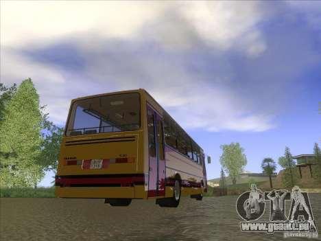 Ikarus 260 32P pour GTA San Andreas laissé vue