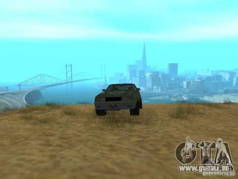 Rusty empereur de GTA 4 pour GTA San Andreas vue arrière