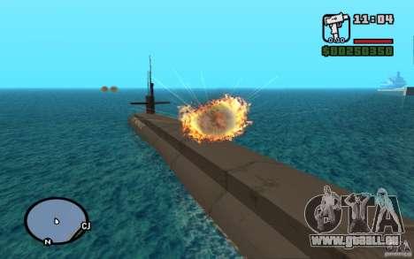 U-Boot für GTA San Andreas zweiten Screenshot