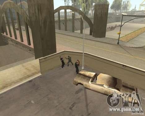 Clochards fous pour GTA San Andreas cinquième écran