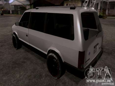 Plymouth Grand Voyager 1970 für GTA San Andreas linke Ansicht
