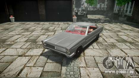 Ford Mercury Comet Caliente Sedan 1965 pour GTA 4