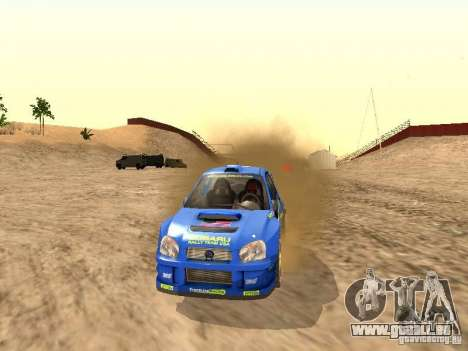 Subaru Impreza WRC 2003 pour GTA San Andreas vue de droite