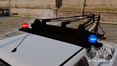 Rancher Tow Truck ELS pour GTA 4 est une vue de l'intérieur