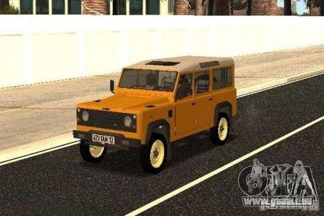 Land Rover Defender 110 für GTA San Andreas