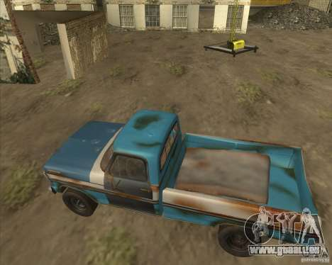 Ford F150 1978 old crate edition pour GTA San Andreas vue de droite