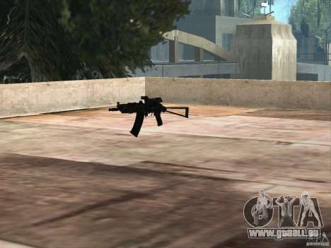 Pak version domestique armes 2 pour GTA San Andreas dixième écran