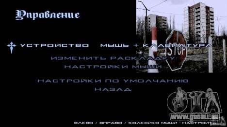 Écrans de chargement Chernobyl pour GTA San Andreas cinquième écran