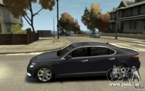 Lexus LS 600h L v1.1 pour GTA 4 est une gauche