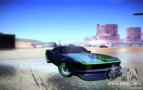Ford Mustang RTR Drift für GTA San Andreas linke Ansicht