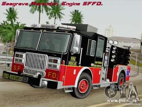 Seagrave Marauder Engine SFFD für GTA San Andreas