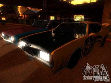 Clover Tuning pour GTA San Andreas laissé vue
