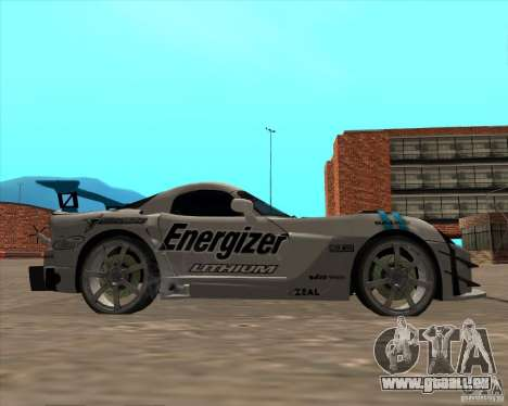 Dodge Viper Energizer pour GTA San Andreas vue de droite