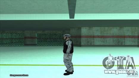 Army Soldier v2 pour GTA San Andreas troisième écran