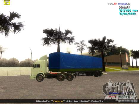 Nefaz 93344 pour GTA San Andreas