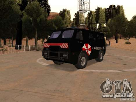 AM 7.0 Umbrella Corporation pour GTA San Andreas
