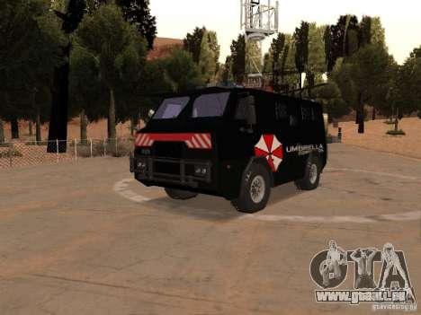 AM 7.0 Umbrella Corporation pour GTA San Andreas