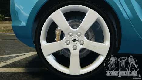 Opel Astra 2010 v2.0 für GTA 4 Innenansicht