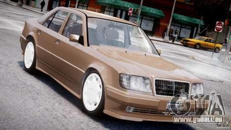 Mercedes-Benz W124 E500 1995 pour GTA 4 Salon