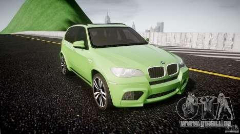 BMW X5 M-Power pour GTA 4 Vue arrière