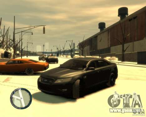 Ford Taurus Police Interceptor Stealth für GTA 4
