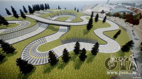 Edem Hill Drift Track pour GTA 4 sixième écran