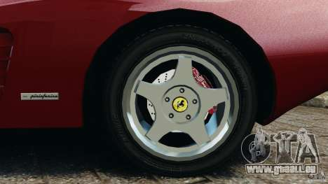 Ferrari Testarossa Spider custom v1.0 für GTA 4 Seitenansicht