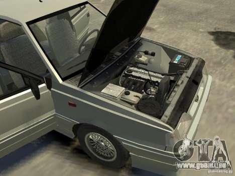 FSO Polonez für GTA 4 Innenansicht