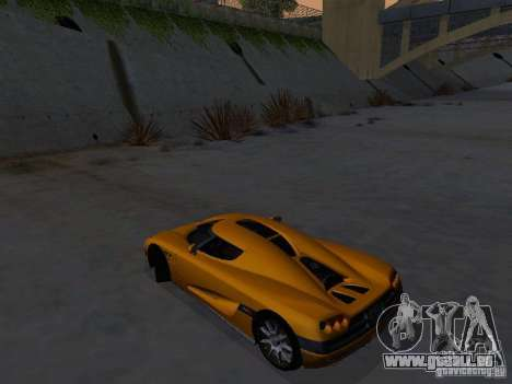 Koenigsegg CCX pour GTA San Andreas sur la vue arrière gauche