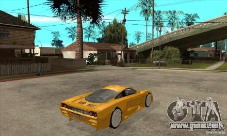 Saleen S7 Twin Turbo für GTA San Andreas rechten Ansicht