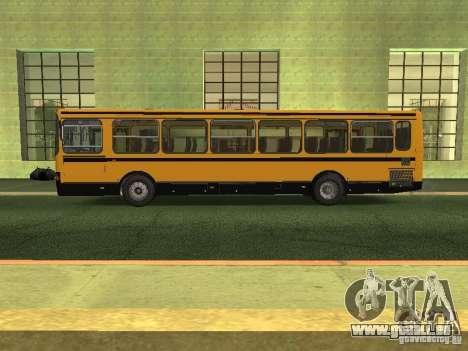 LIAZ 5256.26-01 für GTA San Andreas linke Ansicht