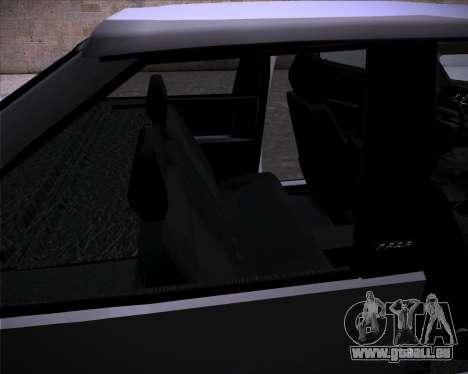 Lada Samara 2113 für GTA San Andreas Innenansicht