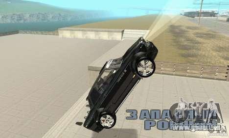 Tunning de VAZ 2106 Fantasy ART pour GTA San Andreas vue de dessous